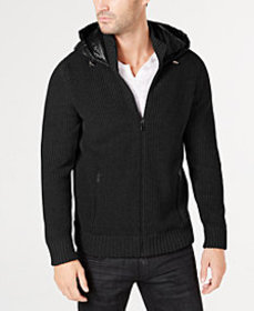 I.N.C. Men's Full-Zip Jacket with Puffer Back, Cre