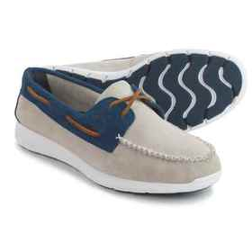 Sperry Sojourn Boat Shoes - Suede (For Men) in Oys