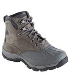 LL Bean Women's Storm Chaser Boots with Arctic Gri