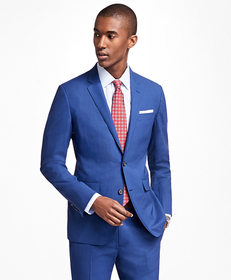 Brooks Brothers Milano Fit BrooksCool® Bright Blue