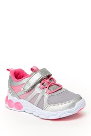 Stride Rite Kylie Glitter Light-Up Sneaker (Toddle
