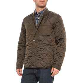 Cole Haan Quilted Jacket (For Men) in Olive - Clos