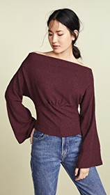Free People Crazy On You Thermal Sweater