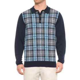 Bobby Jones Cheshire Plaid Polo Sweater (For Men)