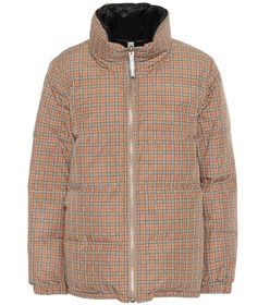 Burberry Reversible check down jacket