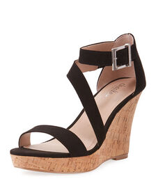 Charles by Charles David Leanna Ankle-Strap Wedge