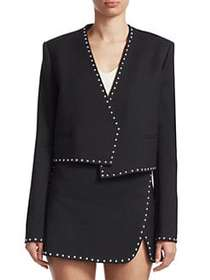 Helmut Lang Studded Suit Jacket BLACK