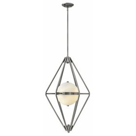 Spectra 2-Light Geometric Chandelier