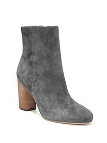 Sam Edelman Corra Suede Ankle Boots GREY