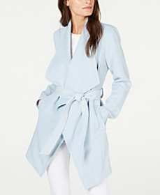 T Tahari Abbey Wrap Coat