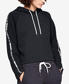 Under Armour Ottoman Fleece Cropped Hoodie