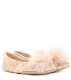 Ugg Andi cotton knit slippers