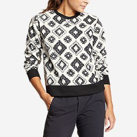 Women's Quest Fleece Sweatshirt - Print