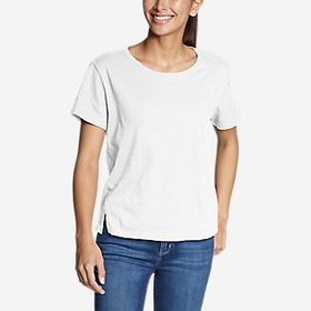 Women's Legend Wash Slub Short-Sleeve Easy Cre