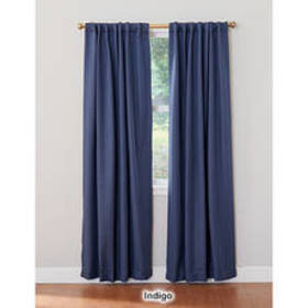 Gatton Blackout Back Tab/Pole Top Curtain Panel