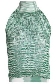 MISSONI Crochet-knit turtleneck top