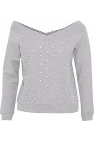 REBECCA MINKOFF Faux pearl-embellished French cott