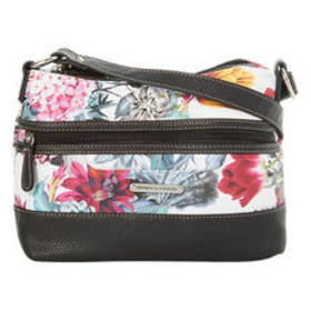 Stone Mountain Printed Floral Pebble Hobo