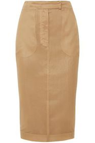 MAX MARA Humour silk-organza pencil skirt