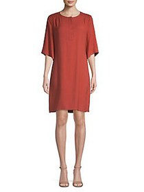 H Halston Siena Henley Dress SIENA