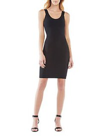 BCBGMAXAZRIA Caspar Bodycon Dress BLACK