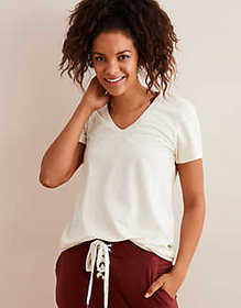 American Eagle Aerie Real Soft® V-Neck Tee