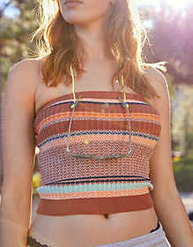 American Eagle Aerie Sweater Tube Top