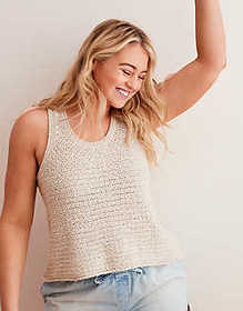American Eagle Aerie Sweater Tank