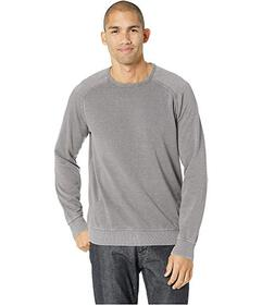 Lucky Brand Venice Burnout Crew Neck Sweatshirt