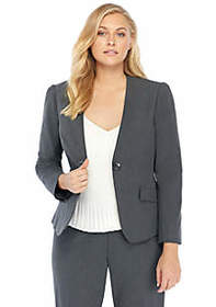 The Limited Plus Size Pleated Jacket