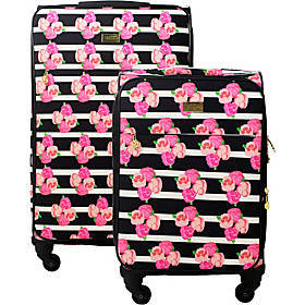 MacBeth Petunia 2 Piece Expandable Spinner Luggage