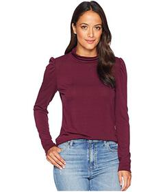 Vince Camuto Long Sleeve Turtleneck Knit Jersey To