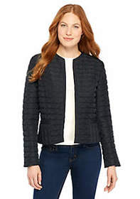 The Limited Petite Quilted Jacket