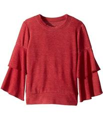 Chaser Kids Extra Soft Tiered Sleeve Pullover Swea