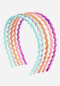 Justice Wave Headband - 5 Pack