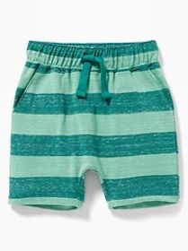 Functional Drawstring U-Shaped Shorts for Toddler