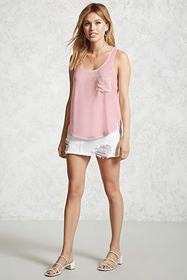 Forever21 Mineral Wash Tank Top