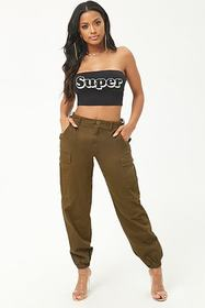 Forever21 Super Graphic Tube Top