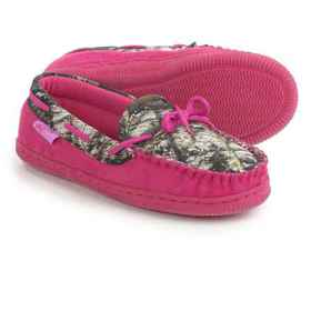 M&F Western Products, Inc. Camo Moccasins (For Lit
