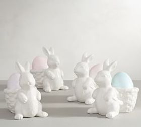 Pottery Barn Bunny Basket Egg Cup
