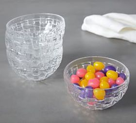 Pottery Barn Basketweave Snack Bowl