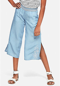 Justice Embroidered Culottes