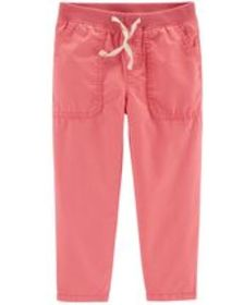 carters Toddler Girl Pull-On Relaxed Fit Pants