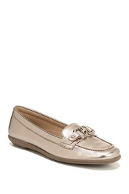 Naturalizer Ainsley Metallic Loafer - Wide Width A