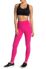 C & C California Side Mesh Zip Pocket Legging