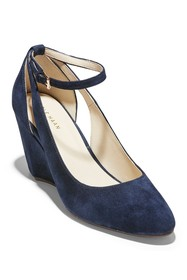 Cole Haan Lacey Cutout Wedge Pump (Women)