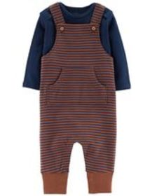 carters Baby Boy 2-Piece Certified Organic Coveral