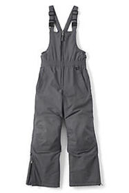 Lands End Boys Squall Waterproof Iron Knee Bib Sno