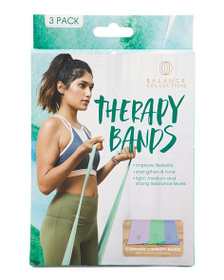 BALANCE COLLECTION 3pk Therapy Bands