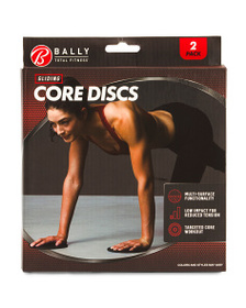 BALLY TOTAL FITNESS Gliding Core Discs